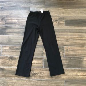 Nike 56323 front zip black pants Size Small